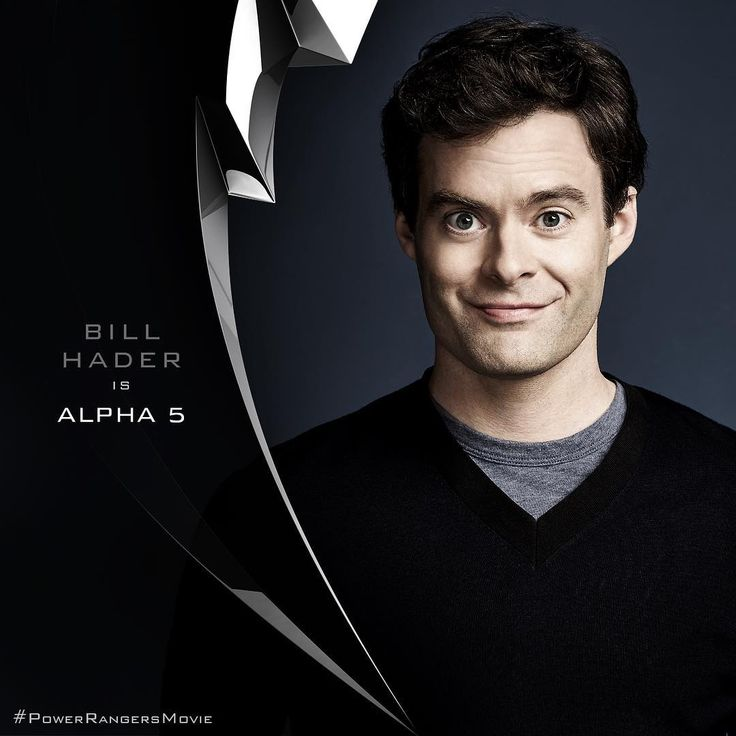 Power Rangers (2017) announces Bill Hader as Alpha 5