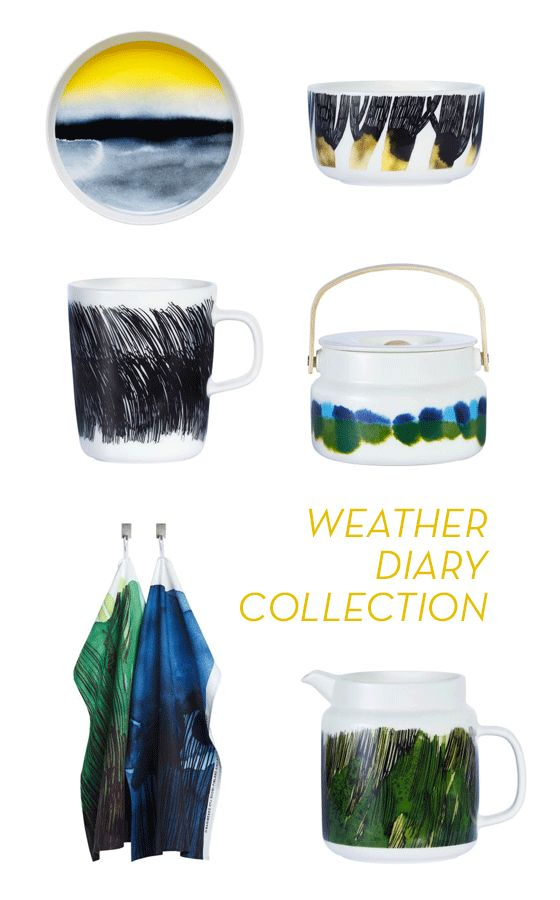 MARIMEKKO'S WEATHER DIARY COLLECTION
