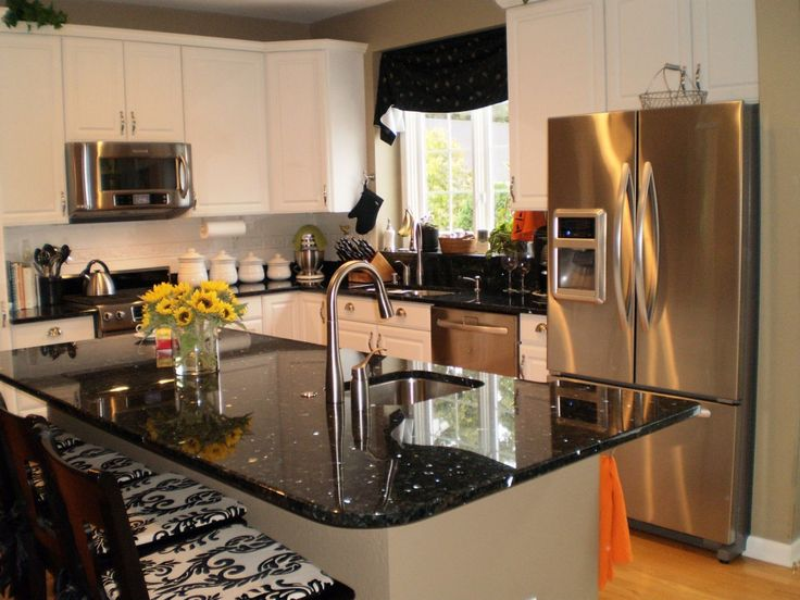 8 Best Emerald Pearl Kitchens Images On Pinterest Emerald Pearl Granite Granite Countertops