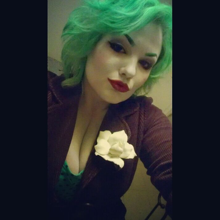 Awesome Rule 63 Joker Cosplay.  That's MISS J to you. by ~HarleyChaplin