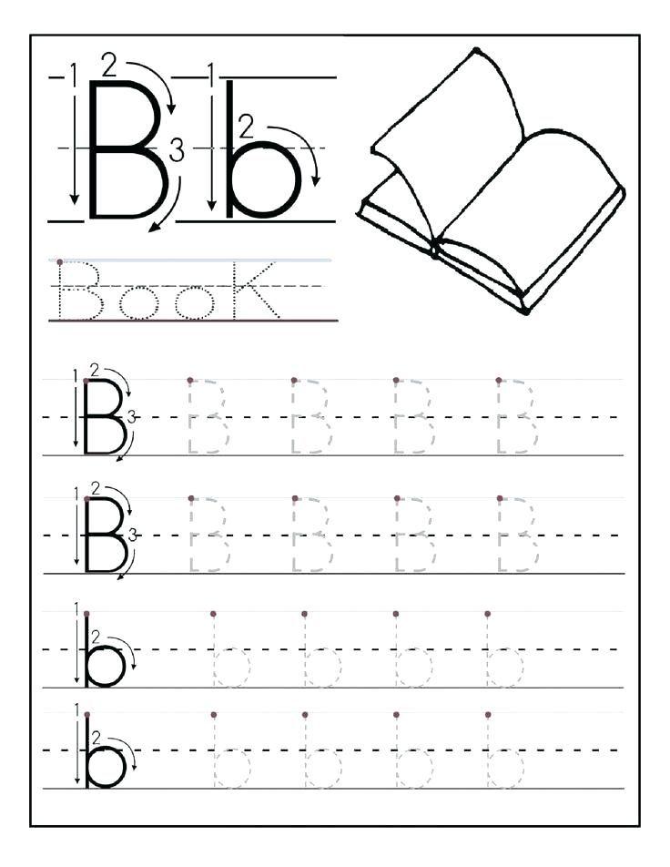 Free Printable Preschool Worksheets Tracing Letters Www.robertdee.org