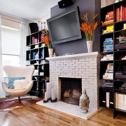 fireplace decor ideas new york home brick fireplace design pictures remodel 31309