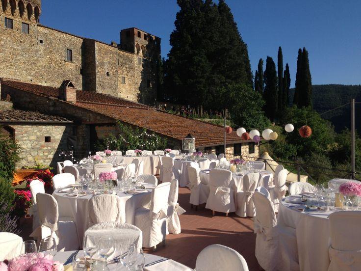 Bryllup i Italia. Italienske Bryllup tilbyr bryllup på vinslott i vakre Toscana.  www.italienskebryllup.no