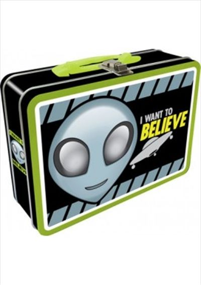 Alien Believe Lunch Box Lunchboxes, Lunchbox | Sanity