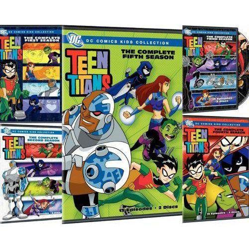 Teen Titans TV Series ~ Season 1-5 (1 2 3 4 5) BRAND NEW DVD SET  | eBay