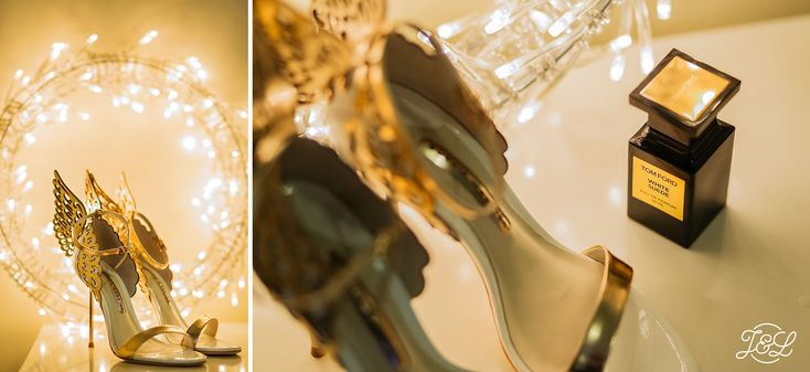 A Winter Wedding at Devonshire Arms Hotel near Skipton, Bolton Abbey  Glorious wedding shoes   Pegasus winged bridal shoes  Cool Alternative Bride  Want to See more? Visit:  www.jamesandlianne.com   Yorkshire Based Wedding Photographers - Capturing the day how you remember it