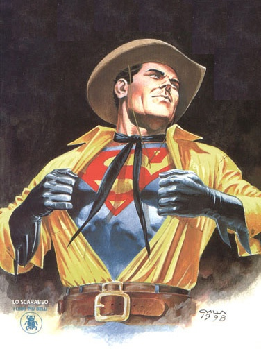 Claudio Villa : Tex alias Superman alias Batman