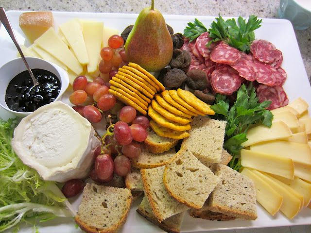 French Cheese and Charcuterie Plate - How to