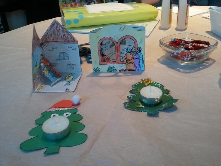 Kerstknutsel gemaakt tijdens de #Kerstinloop in de #Wijkwinkel van #Schollevaar.