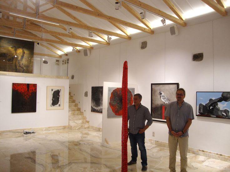 Art Gallery in Limnos, Greece - 'Apothiki' - Lighting Designed by KSLD: Efi Stragali, Kevan Shaw