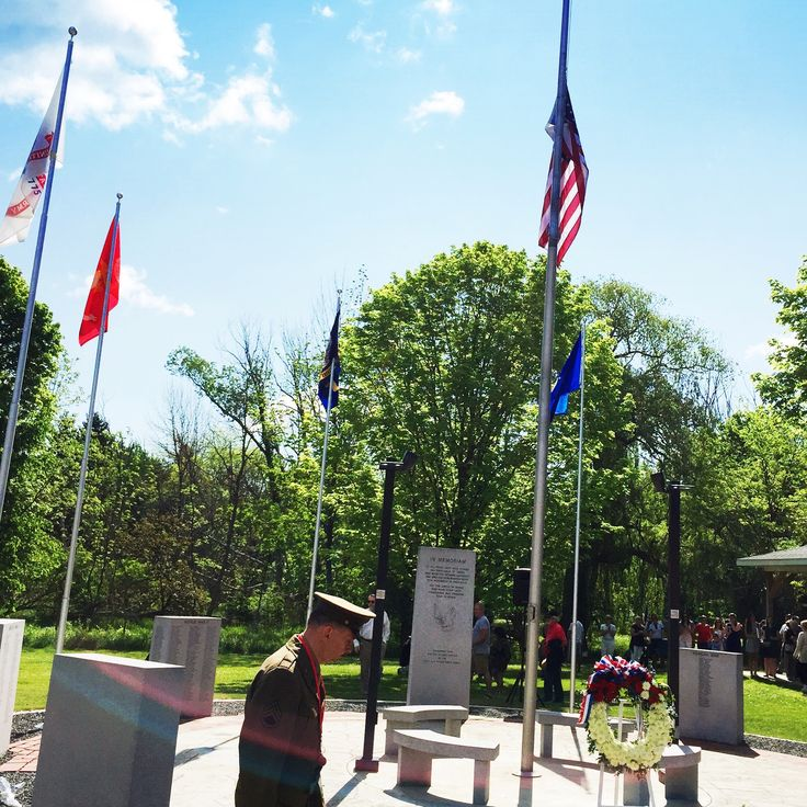 Beautiful Memorial Day service at Veterans Memorial Park in Traverse City yesterday!