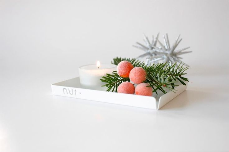 Nur Trays As simple as a tray can get. These multi purpose trays perfectly fit in to each other, giving every thing on top of them a minimalistic and structured appearance. These trays are available in many different colors, materials and sizes and where created by Maja Bøgh Vindbjerg from Nur Design.