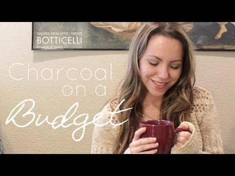 3 Must Have Charcoal Supplies: Art on a Budget! - YouTube