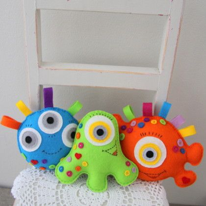 "Handmade DIY Ways To Create ""Felt Toys"" To Amuse Kids | Amusing Feed"