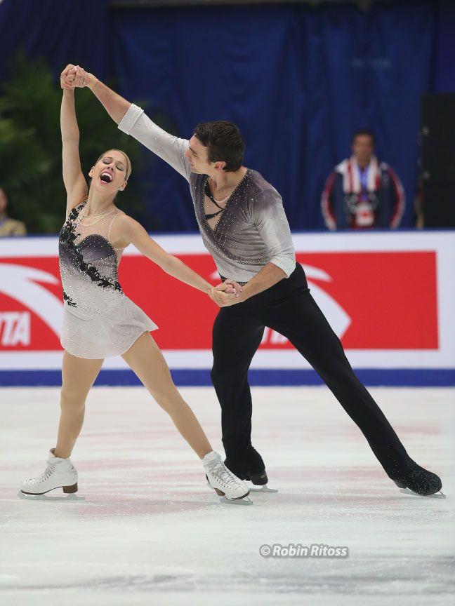 Alexa Scimeca and Christopher Knierim(USA)