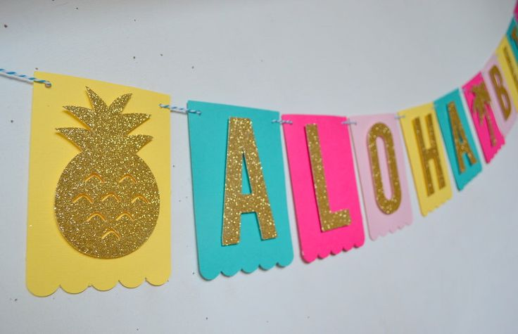 Aloha Bitches Tropical Beach Luau Bridal Shower Bachelorette Party Banner by PopFizzHooray on Etsy https://www.etsy.com/listing/239941681/aloha-bitches-tropical-beach-luau-bridal