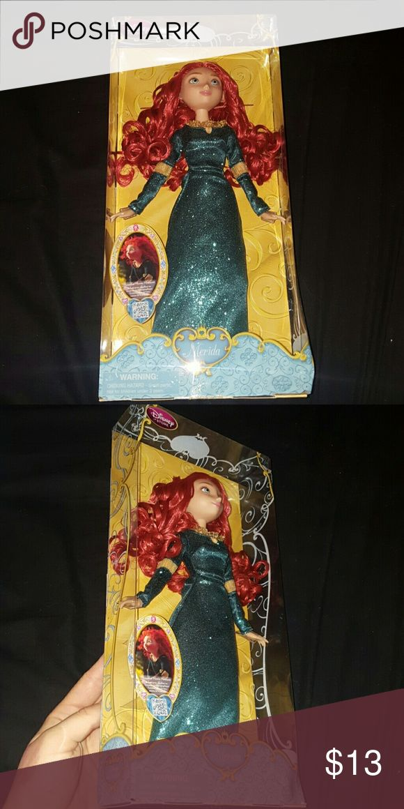 Merida Disney Barbie Doll Merida Disney Barbie Doll. Never Opened. Still sealed. Perfect present! Disney Other