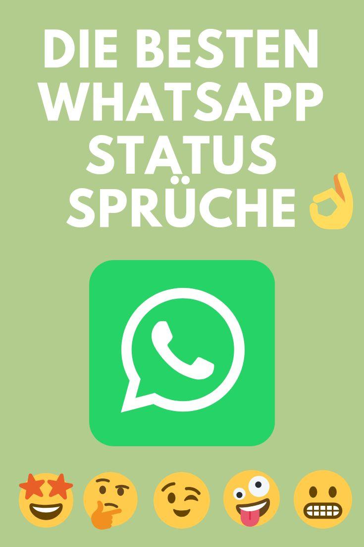 Hier findest du die besten WhatsApp Status Sprüche in