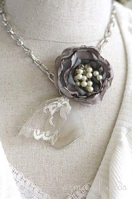 Anthropology inspired necklace...so making this!!