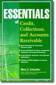 Essentials of Credit, Collections and Accounts Receivable by Mary Schaeffer who is considered an industry expert and writes a newsletter that focuses on credit, collections, and accounts receivable. http://my.nacm.org/info/Core/Orders/Default.aspx