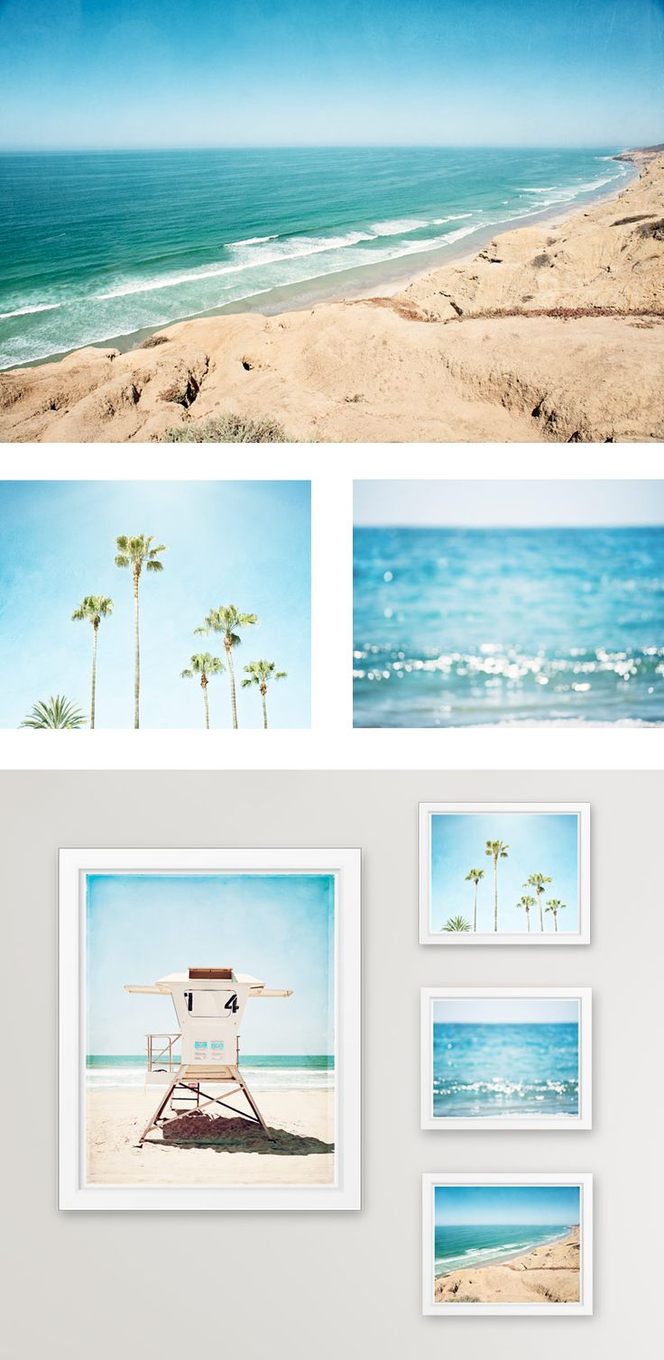 Inspirational Beach themed Art Prints