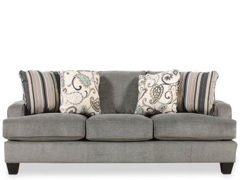 Ashley Yvette Steel Sofa I Love The Color And The Design