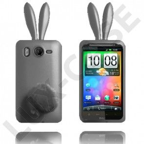 Bunny (Grå) HTC Desire HD Cover