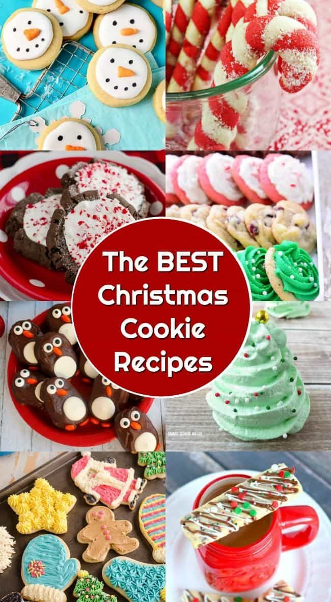 The BEST Christmas Cookie Recipes! Perfect for your cookie exchange!
