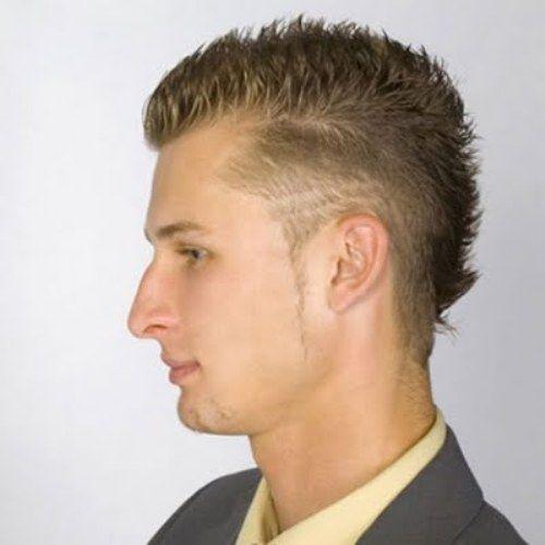 Appealing Males Hairstyles: Semi Mohawk For Men   Pinkous
