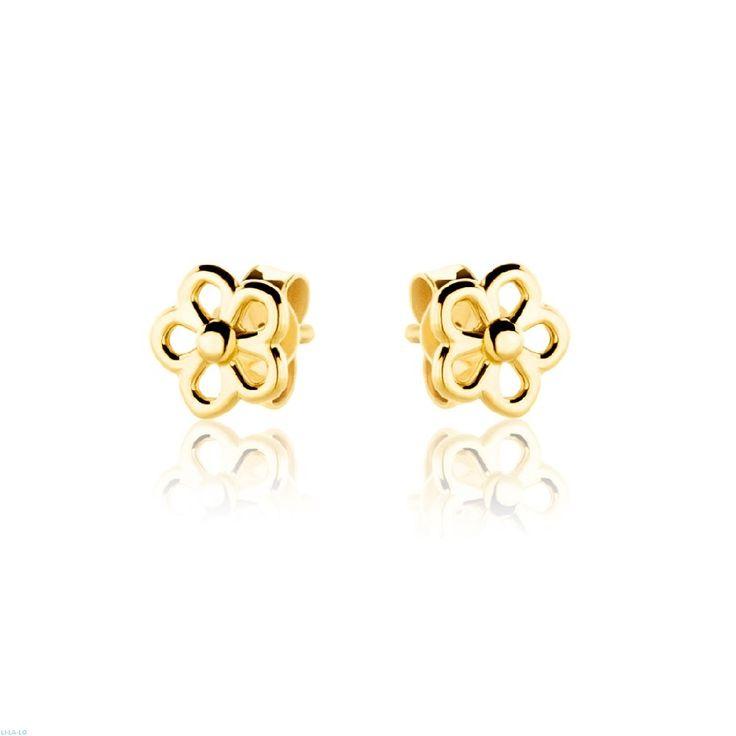 Σκουλαρίκια Τeens Gold Collection από κίτρινο χρυσό 18Κ.