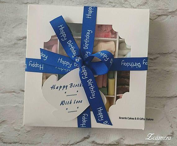 Personalised Sweet Chocolate Treat Box Birthday Boy
