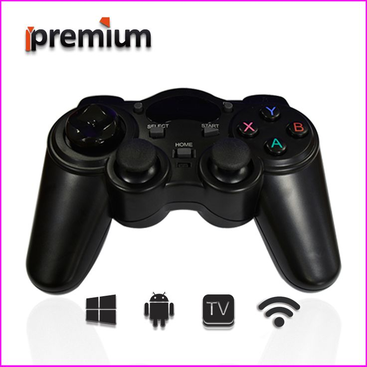 2017 Android Wireless Gamepad 2.4GHz gamepad pc Smart Game Controller Joystick pc Joypad Game Remote Control For TV BOX/Android
