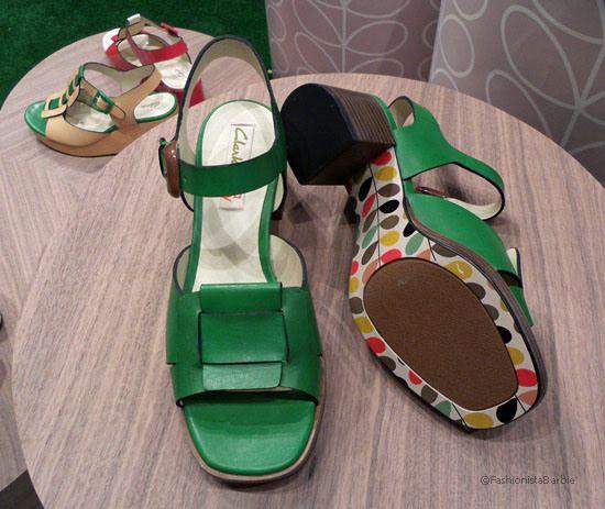 Orla kiely clarks 5 Shoe Lust: Orla Kiely x Clarks For SS14 %tag