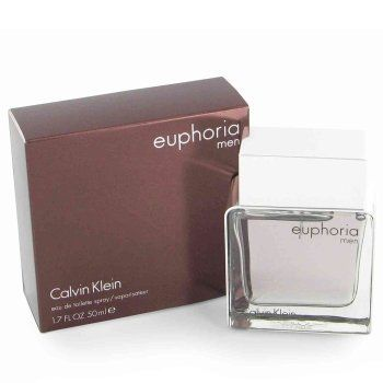 Euphoria by Calvin Klein for Men by Calvin Klein. $44.50. **No U.S. Sale Tax** 3.4 oz Eau de Toilette EDT Spray. New in Box. Euphoria by Calvin Klein for Men. Euphoria by Calvin Klein for Men Euphoria Cologne by Calvin Klein, 3.4oz Eau De Toilette Spray for men. Provocative. Masculine. Sexy. Translates the core brand codes of Euphoria from a masculine perspective. Captures a provocative territory that i