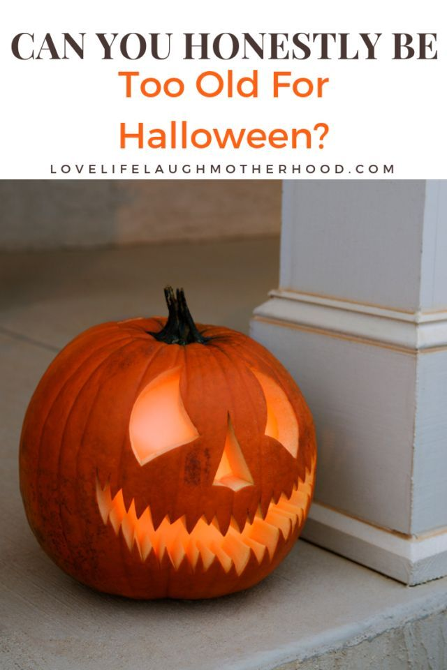 Can You Honestly Be Too Old For Halloween? Home Decor Pinterest