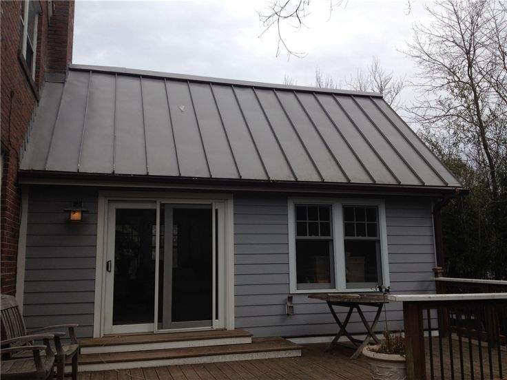 Images Of Houses Of Metal Roofs Charcoal Gray Metal Roof