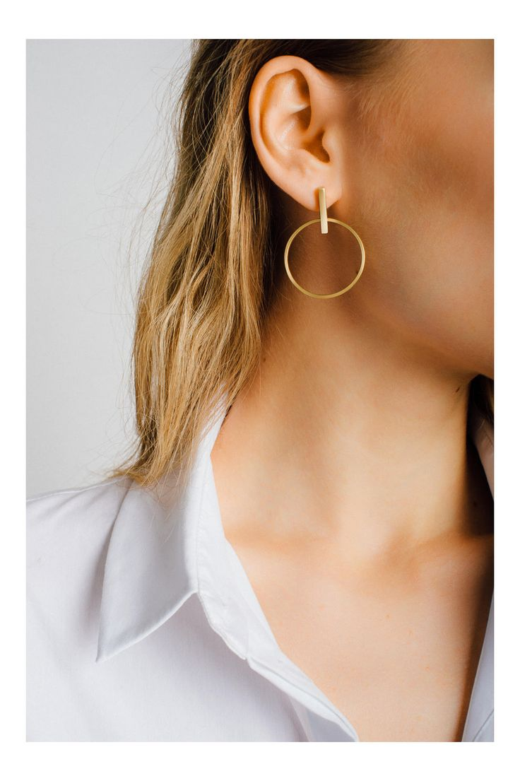 Statement earrings are a must-have, so it's no surprise this pair sold out so quickly.