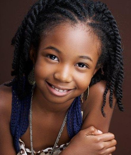natural twists hairstyles : Cute Hairstyles for Kids with Natural Hair Hair Style Guide Hairstyle ...