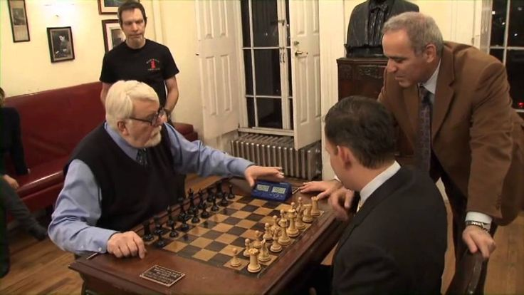 Into the night with Garry Kasparov and Peter Thiel