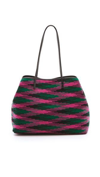 M Missoni - shopping bag: now available at baska - 18 Magdalene Street or www.baska.co.uk
