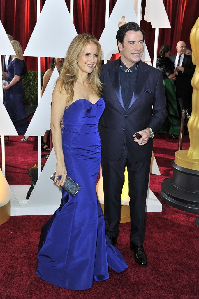 Kelly Preston in Gustavo Cadile and Kimberly McDonald with John Travolta.