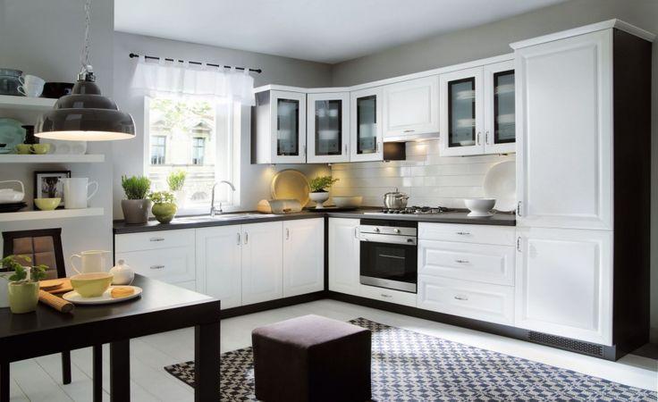 Zabudowa kuchenna: 15 sposobów na szafki górne  - zdjęcie numer 3