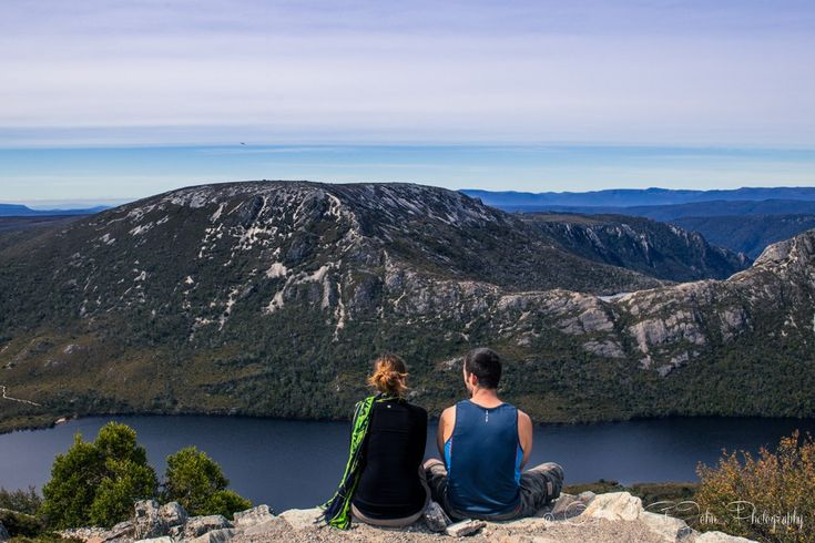 Taking a break from the crowds at the top of Marion's Lookout. Cradle Mountain National Park.