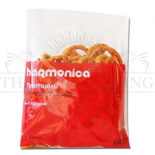 Био Претцели с хималайска сол, 60 гр. -висококачествен биологичен продукт, който съдържа много полезни за вашето здраве вещества и уникален вкусeн.  Хапка щастие!