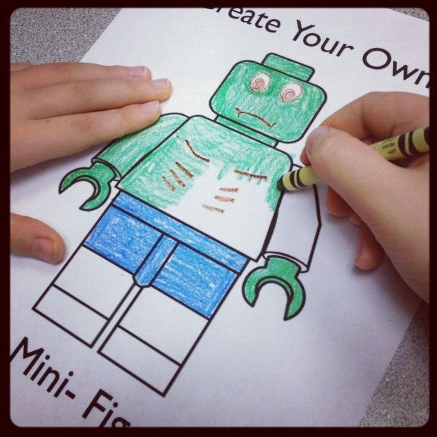 FREE Lego Mini-Figure Printables (Packs for Boys & Girls)