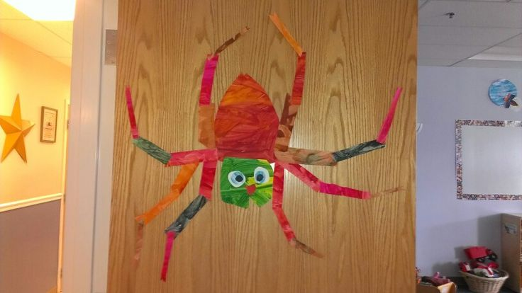 The Very Busy Spider Eric Carle Classroom