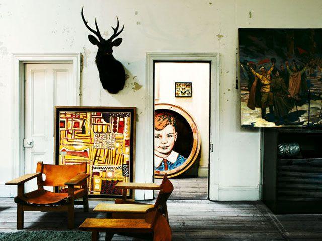 David Bromley's house
