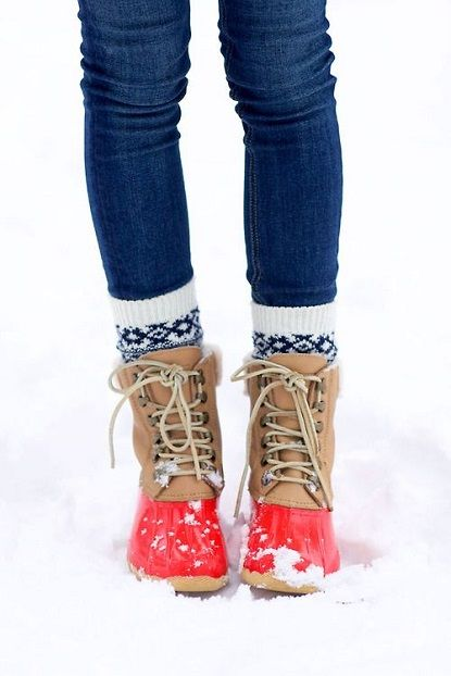 Sorel's are extremely comfortable and easy to get around in the snow with! And not to mention adorable!!
