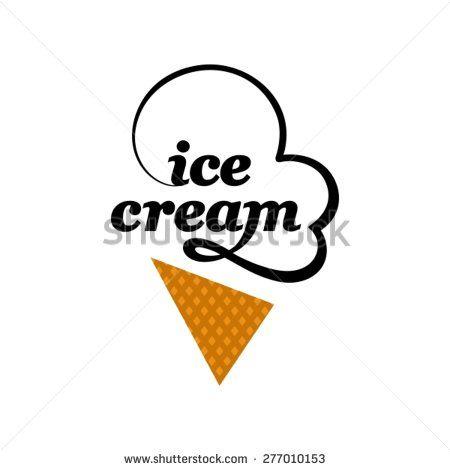 Ice cream logo template                                                                                                                                                     Más