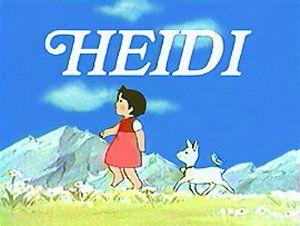 Imagenes de dibujos animados: Heidi